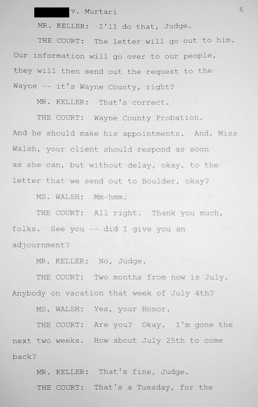 Child support disaster finally resolved 14 years akidsright from the support magistrate and i may appeal that so that we have a clean slate when returning to wayne county read transcript page 1 page 2 thecheapjerseys Images